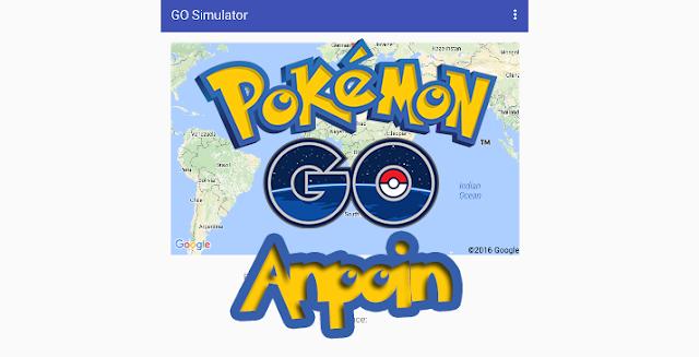 Cara Menggunakan BOT Pokemon GO di Android, Cara Menggunakan BOT Pokemon GO di Android Mudah, Cara Menggunakan BOT Pokemon GO di Android Work, Cara Menggunakan GO Simulator di Android.