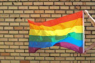 Bandera arcoíris LGTBI