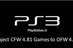 Tutorial Lengkap Cara Inject Game PS3 OFW 4.81