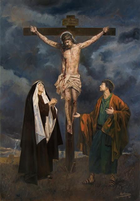 XII Estação da Via-Sacra - Jesus morre na cruz