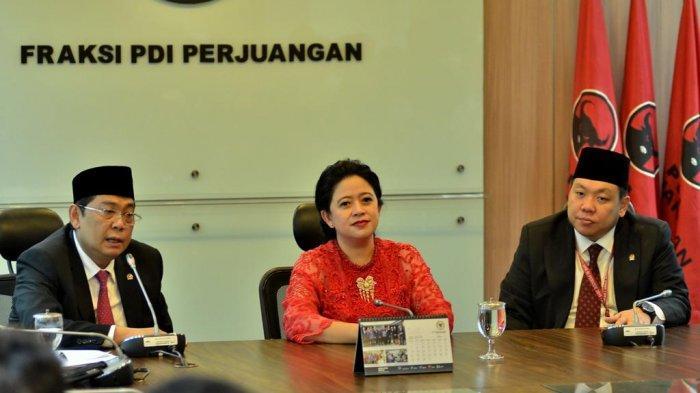 Ketua DPR Resmi Dijabat Oleh Puan Maharani