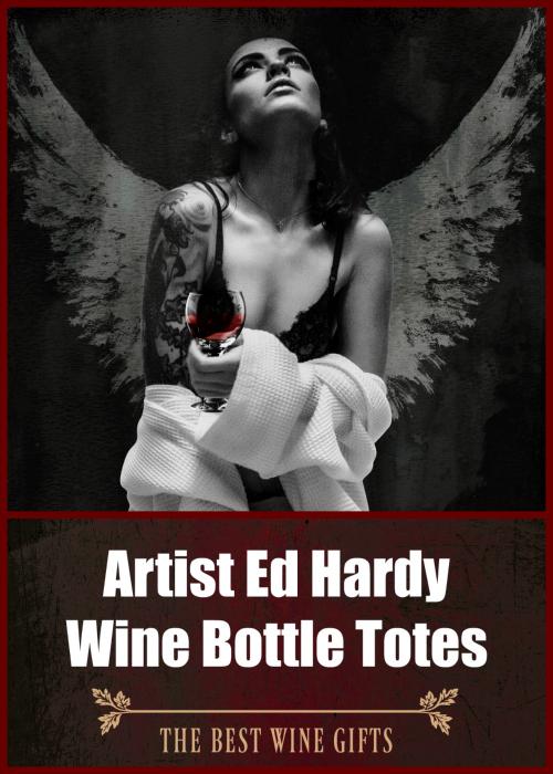 Ed Hardy Wine Bottle Totes