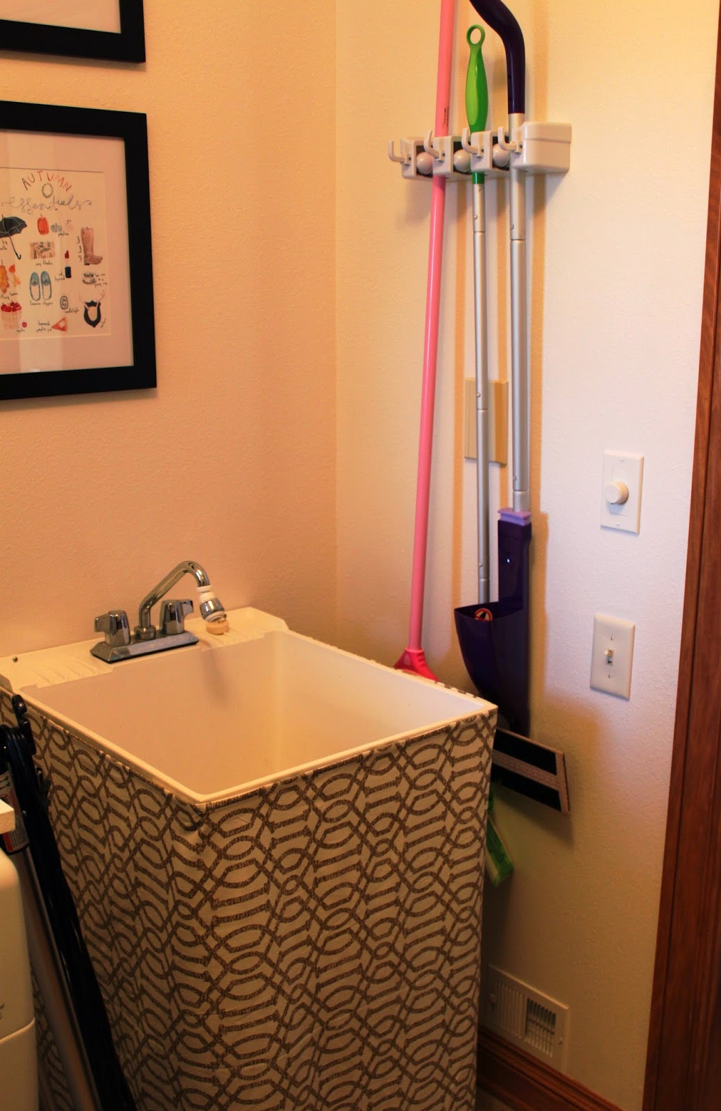 Rhubarb Amp Linen Laundry Room Before And After