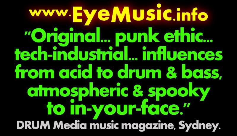 Industrial Electro-Punk-Rock CyberPunk Gothic Darkwave EBM