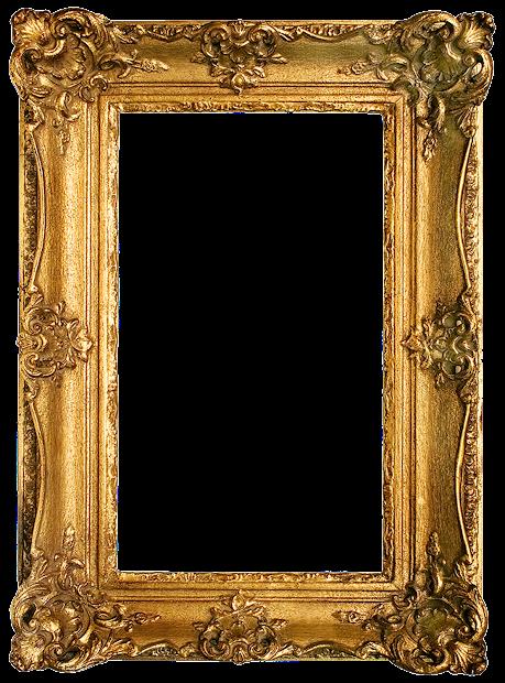 Vintage Gold Gilded Frame