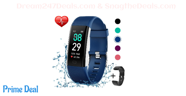 60%off Activity Tracker Watch with Heart Rate Monitor