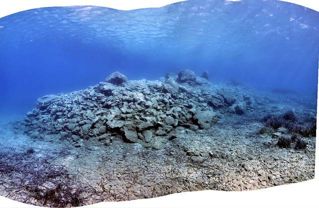 Underwater research completed in Palaikastro Bay, Siteia