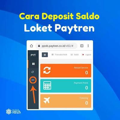 Cara Deposit Loket Paytren