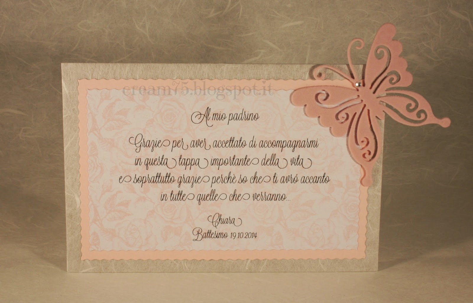 Ben noto My Sweet Blog: Madrina e Padrino del Battesimo: cosa regalare? XJ65