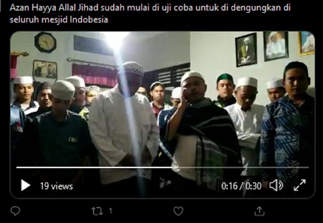 Pelaku Azan Jihad Akhirnya Minta Maaf, Ini Pengakuannya