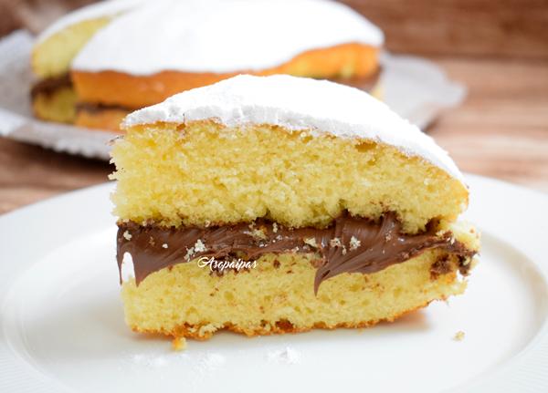 Torta Margarita con Nutella. Vídeo Receta