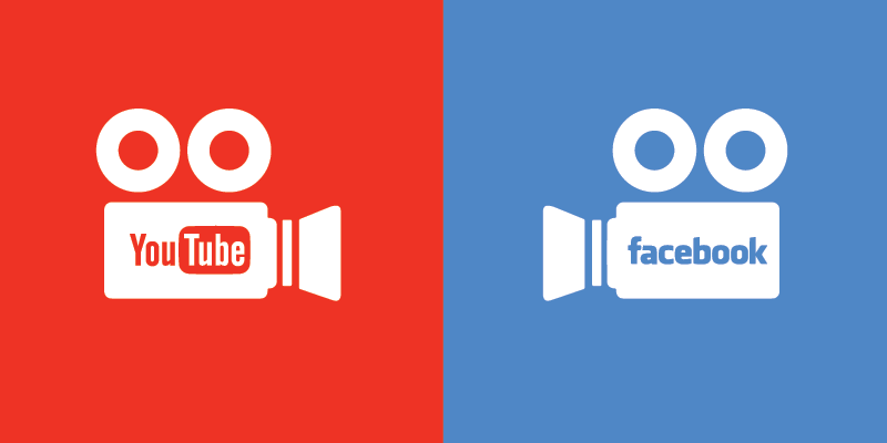 YouTube vs Facebook video