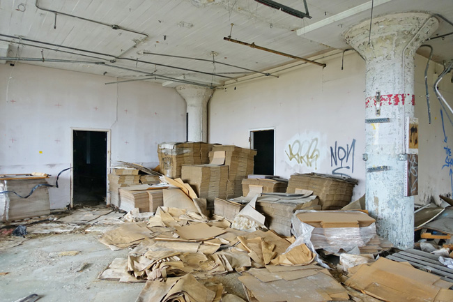Abandoned Victoreen Instrument Company in Cleveland Ohio