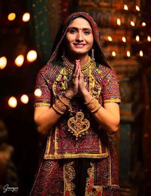 Beautiful Geeta Rabari new song photo shoot images