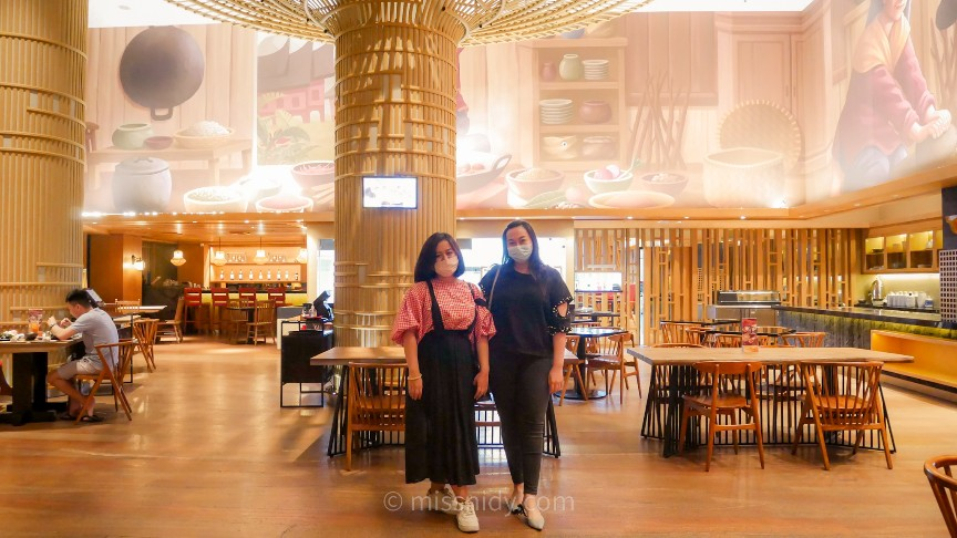 pengalaman makan nasi padang di hotel berbintang
