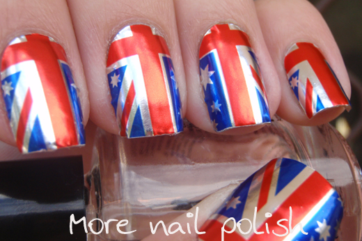 Aussie Nails Australian Flag More Nail Polish