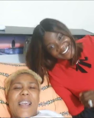 Mercy Johnson Visit Shan George After Successful Spinal Surgery (VIDEO)