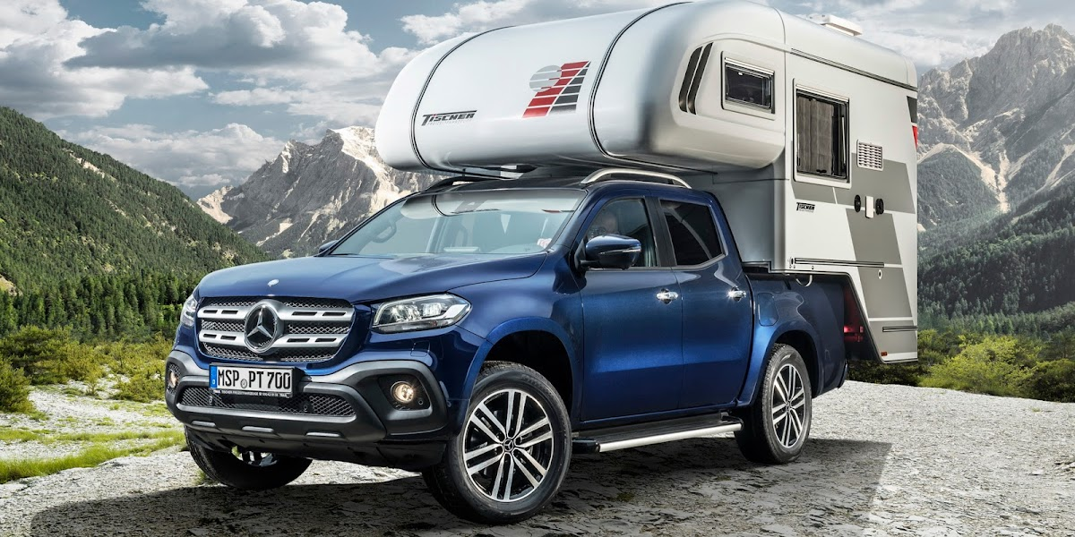 First Mercedes X-Class Camper Concepts Debut In Germany