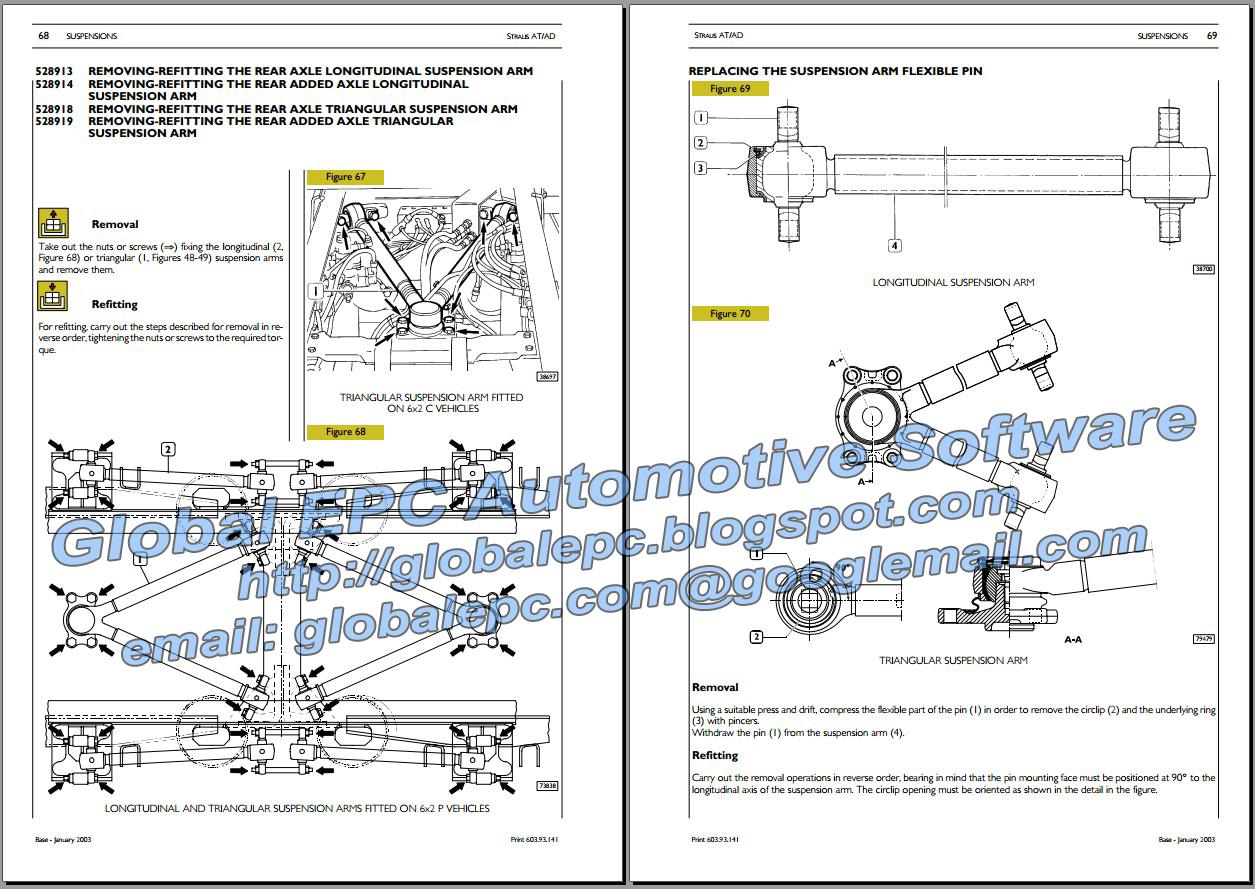 AUTOMOTIVE REPAIR MANUALS: IVECO STRALIS REPAIR MANUAL & WIRING DIAGRAMS