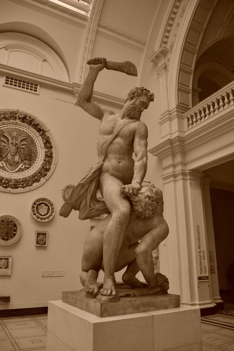 Samson tuant un Philistin - Giambologna