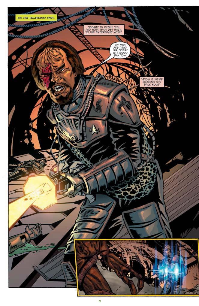 The Trek Collective Borg Comic Catch Up
