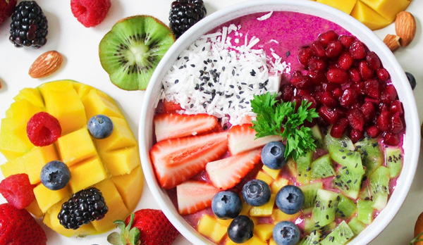 healthier you - food - nutrition - fruit bowl - super foods -fitness blogger - mommy blogger