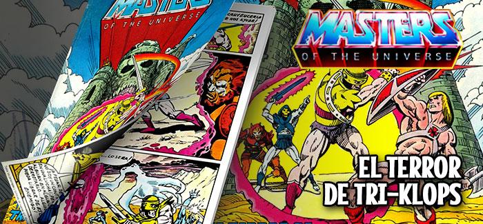 Minicómic El terror de Tri-Klops Mattel 1982