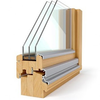 Leseno aluminijasta okna