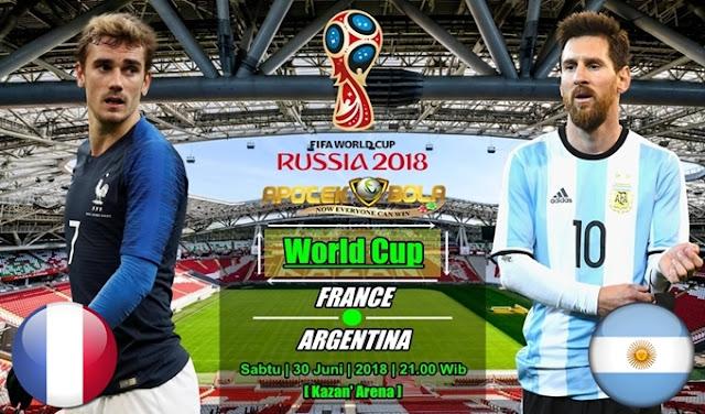 Prediksi France vs Argetina 30 Juni 2018