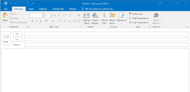 Message outlook