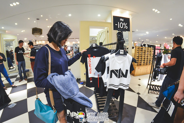 NOL1XON Pop-Up Store in Isetan KLCC