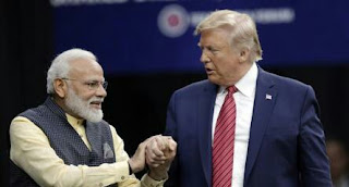 President (Trump) and the Prime Minister (Modi)