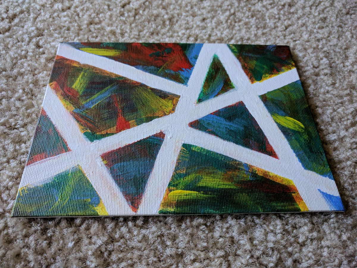 Abstract Art for kids, Craft for kids, Painting for kids, Canvas art