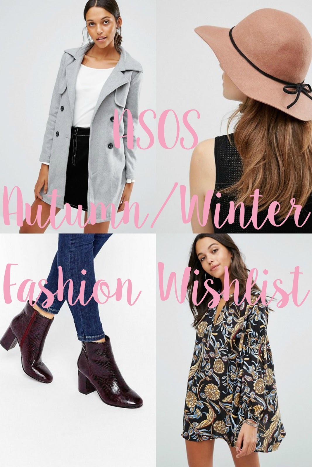 ASOS Autumn/Winter 2016 Wishlist.