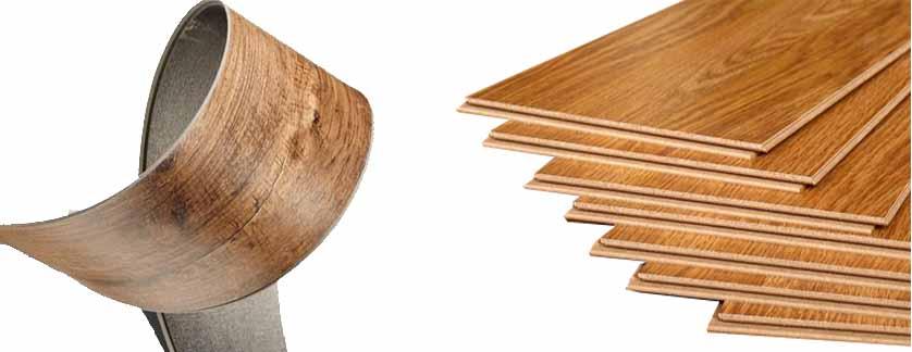 harga lantai kayu sintetis / tempel