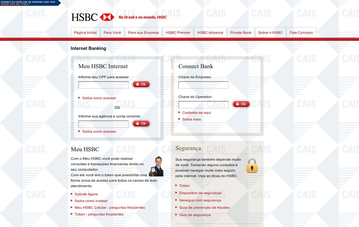 hsbc personal internet banking usa login
