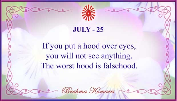 Thought For The Day July 25