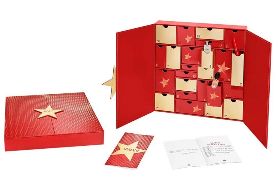 Kalendarz Adwentowy z kosmetykami 2019 Armani Advent Calendar 2019