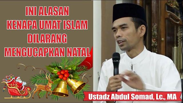 Video Ustadz Abdul Somad Mengenai Ucapan Natal, Begini Hukumnya