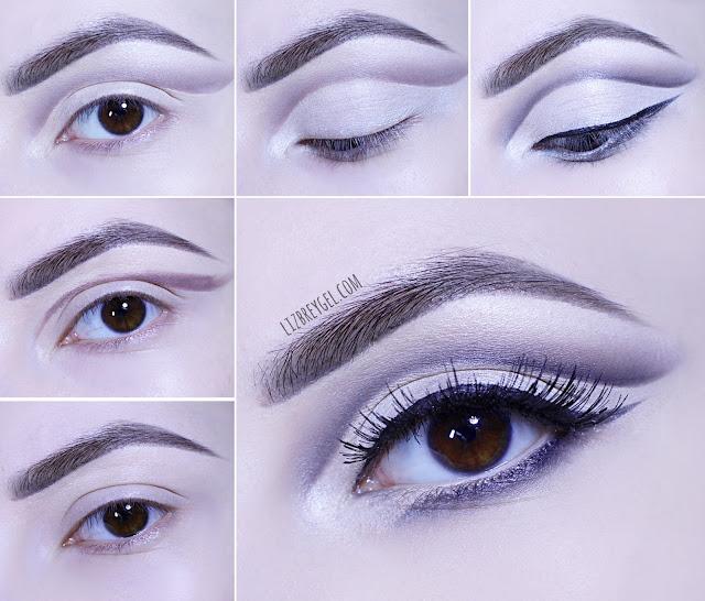 step by step gothic grunge makeup tutorial easy fast liz breygel january girl