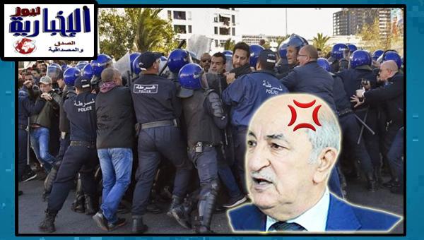 الرئيس تبون يامر بالتطبيق الصارم للقانون بخصوص الحراك الشعبي