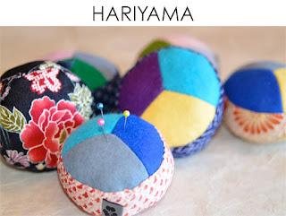 Nadelkissen Hariyama aus japanischen Stoffen von Noriko handmade, japanisch, Japan, handgemacht, Einzelstück, Unikat, Design