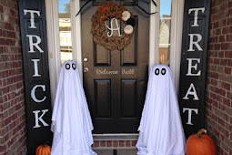 20 Halloween Outdoor Decorations Ideas To Welcome Your Trick-or-Treaters