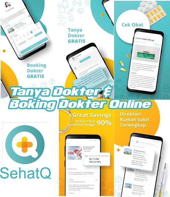 6 fitur lengkap aplikasi sehatQ