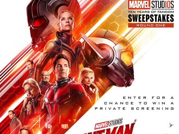 Marvel Studios Ten Years of Fandom Sweepstakes