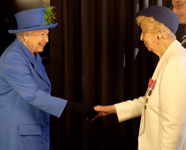 Queen Elizabeth II visited GCHQ, at their first home and former top secret location Watergate House
