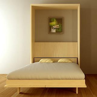 Giường gấp dọc, giường gấp cao cấp
