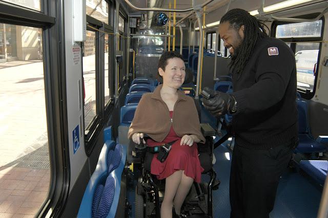 Transporte para deficientes físicos em Washington