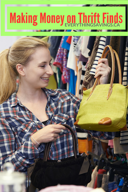 How to Make Extra Cash Buying & Selling from Thrift Stores