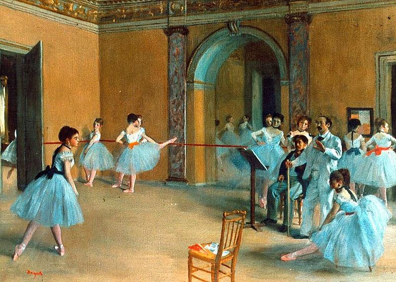 Estúdio de Dança na Ópera - Edgar Degas e suas principais pinturas ~ O Pintor de Bailarinas